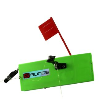 Runos planer board for trolling, adjustable weight, left