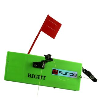 Runos planer board for trolling, adjustable weight, right