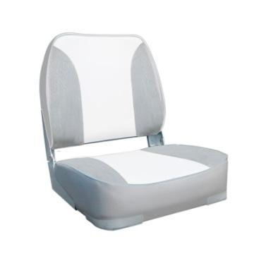 Oceansouth sėdynė DELUXE FOLDING su pilnu paminkštinimu grey/white