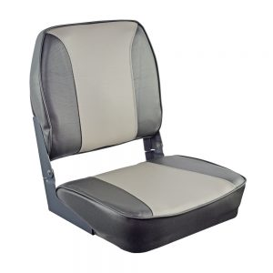 Oceansouth sėdynė DELUXE FOLDING su pilnu paminkštinimu grey/charcoal
