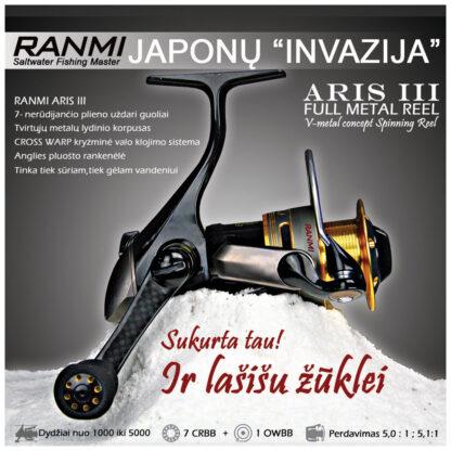 Ritė RANMI Aris III 7+1BB