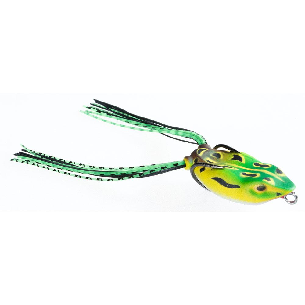 Guminukas JAXON Magic Fish Frog C / 4cm, 6cm, 1 vnt.
