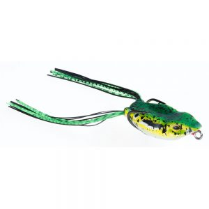 Guminukas JAXON Magic Fish Frog D / 4cm, 6cm, 1 vnt.