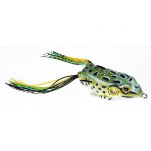 Guminukas JAXON Magic Fish Frog 2 C / 4cm, 6cm, 7cm, 1 vnt.