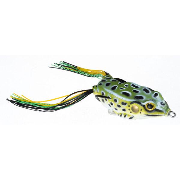 Guminukas JAXON Magic Fish Frog 2 C / 4cm, 6cm, 7cm, 1 vnt.