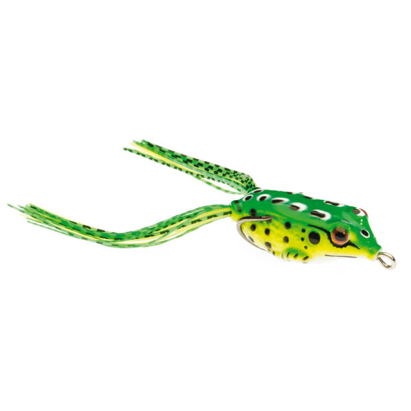 Guminukas JAXON Magic Fish Frog 3 C / 3cm, 3,5cm, 3,8cm, 4cm, 5cm, 6,5cm, 1 vnt.