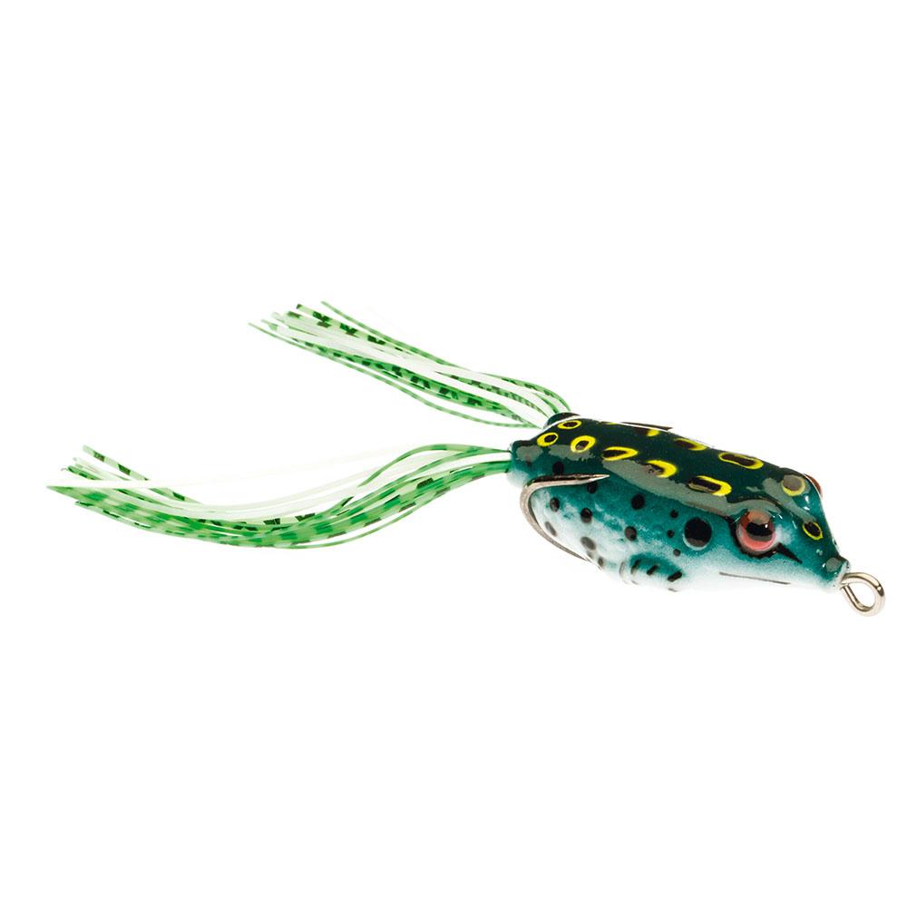 Guminukas JAXON Magic Fish Frog 3 D / 3cm, 3,5cm, 3,8cm, 4cm, 5cm, 6,5cm, 1 vnt.